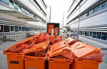 Çorum'da bir yılda 759 ton tıbbi atık bertaraf...