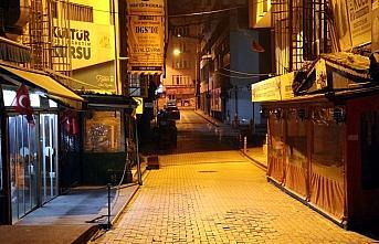 Doğu Marmara ve Batı Karadeniz'de kısıtlamanın başlamasıyla cadde ve sokaklar boşaldı