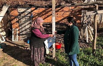 Düzce Belediyesi yaşlıların ihtiyaçlarını karşılıyor