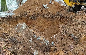 Düzce'de izinsiz kazı yaptıkları iddiasıyla 11...