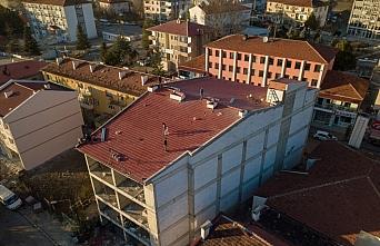 Eflani Belediyesi iş merkezinin ikmal inşaatı tamamlandı
