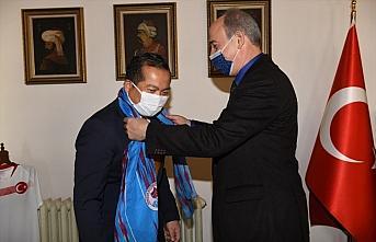 Endonezya'nın Ankara Büyükelçisi İkbal, ülkesinin...