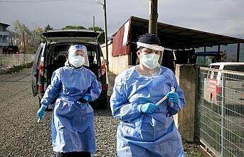 Filyasyon ekiplerinin koronavirüsle mücadelesi sürüyor