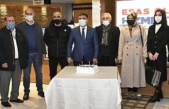 Gümüşhane Belediye Başkanı Ercan Çimen gazetecilerle buluştu
