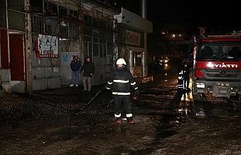 GÜNCELLEME - Kastamonu'da sanayi sitesindeki yangın...