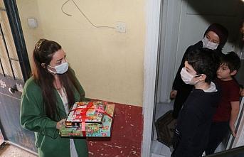 Havza ve Ladik'te 40 öğrenciye tablet ve eğitim seti desteği