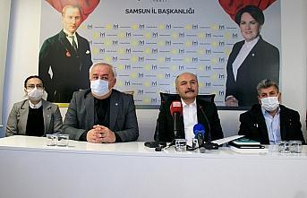 İYİ Partili Usta, Samsun İl Başkanlığında konuştu: