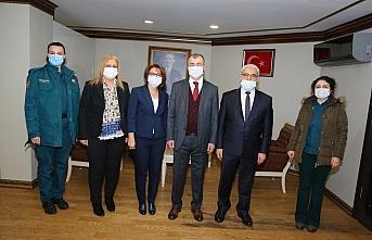 Kaçkar Gümrük ve Dış Ticaret Bölge Müdürlüğü çalışanlarından Vali Doruk'a ziyaret