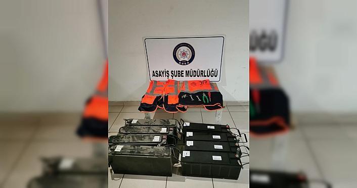 Karabük'te akü çaldıkları öne sürülen 2 şüpheli yakalandı