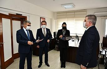 Karabük'te emniyet personeline başarı belgeleri...