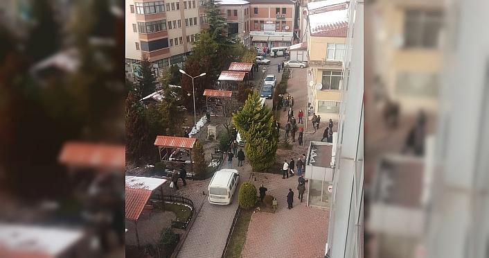 Karabük'te iki aile arasındaki taşlı sopalı kavga