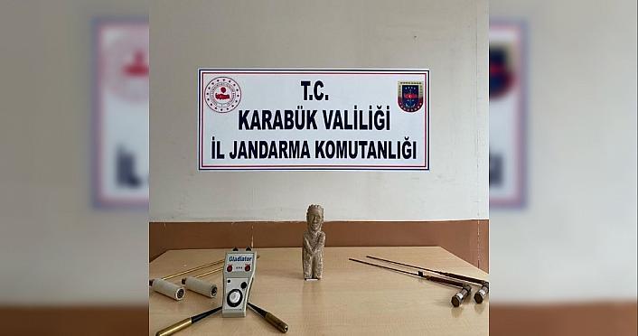 Karabük'te tarihi eser kaçakçılığı operasyonunda bir kişi yakalandı