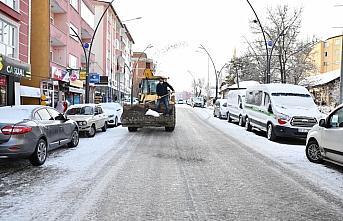 Karadeniz'de 3 ilde kar yağışı etkisini sürdürüyor