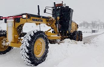 Kastamonu, Sinop, Çorum ve Amasya'da 263 köy yolu ulaşıma kapandı