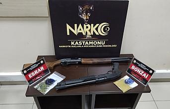 Kastamonu'da uyuşturucu operasyonlarında 3 kişi...