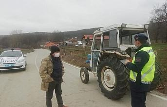 Kavak'ta traktörlerde bulundurulması gerekenler hakkında uyarı