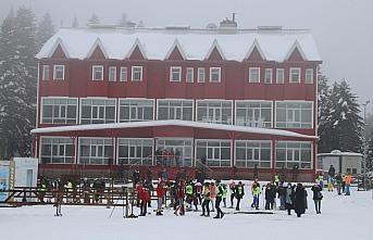 Kayaklı Koşu B Grubu 1. etap yarışları Bolu'da...