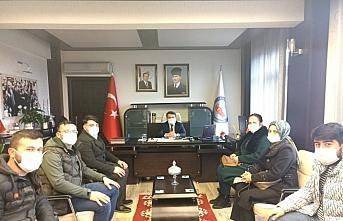 Kaymakam Saygılı'ya AK Parti'den ziyaret