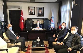 Kaymakam Saygılı'ya CHP İl Başkanı Türkel'den...