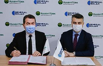 Kuveyt Türk ile Generalsolar, çatı güneş enerjisi...