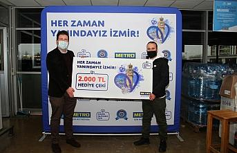 Metro Türkiye'den İzmir depreminde zarar gören...