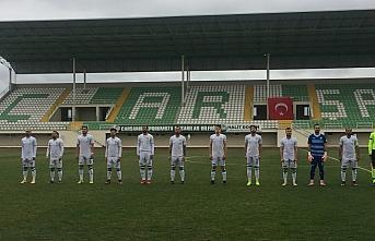 Misli.com 3. Lig'de Çarşambaspor, sahasında Gölcükspor...