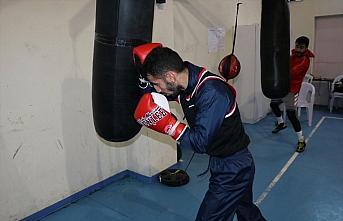 Olimpik Erkek Boks Milli Takımı'nın Kastamonu kampı...
