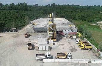 Ordu'da asfalt üretiminden 8 ayda 3,5 milyon liralık...