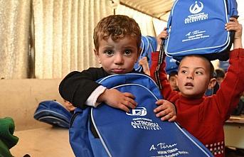 Ordu'dan Suriye'deki çocuklara giysi yardımı
