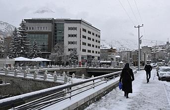 Orta ve Doğu Karadeniz'de kar yağışı etkili oluyor
