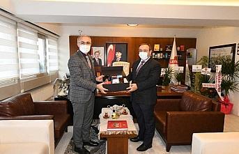 Rektör Karaman'dan ÇAYKUR Genel Müdürü Alim'e ziyaret
