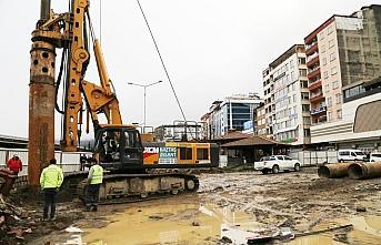Rize'de kentsel dönüşüm çalışmaları