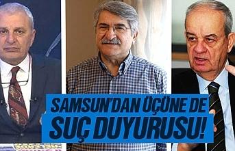 Samsun AK Parti, Fikri Sağlar, Can Ataklı ve İlker Başbuğ hakkında suç duyurusunda bulundu