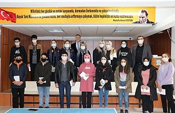 Samsun Rotary Kulübünden öğrencilere tablet