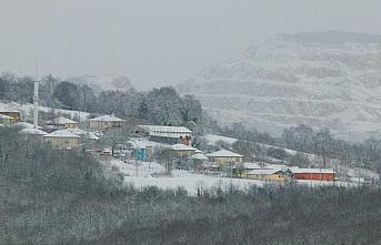 Samsun ve çevre illerde kar yağışı