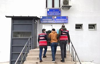 Samsun'da firari hükümlü jandarma ekiplerince yakalandı