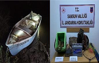 Samsun'da kaçak balık avlayan 16 kişiye 65 bin 850 lira para cezası verildi