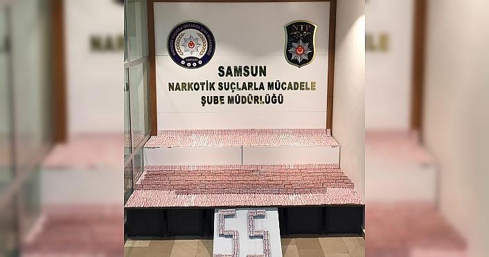 Samsun'da uyuşturucu operasyonunda 6 zanlı yakalandı