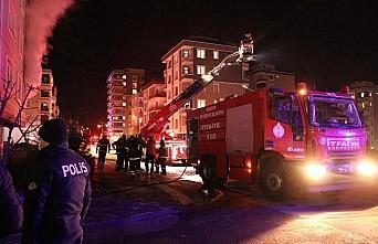 Samsun'da yangın çıkan apartmanda 2 çocuk dumandan...