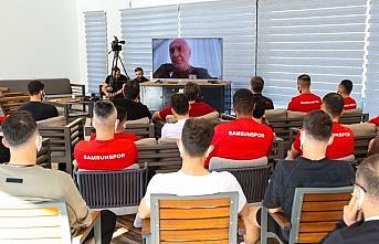 Samsunspor'da çevrim içi toplantı