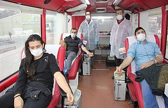 Suluova'da 205 ünite kan bağışı alındı