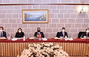 TBB, Afganistan Ulaştırma Bakanı'nı ağırladı