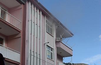 Tokat'ta ev yangını hasara yol açtı
