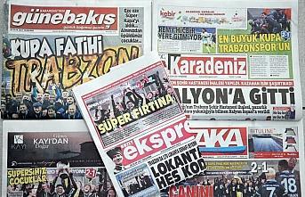 Trabzon yerel basınında