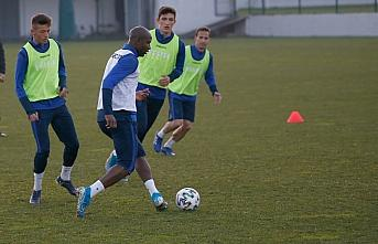 Trabzonspor, Göztepe maçı hazırlıklarına başladı