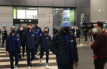 Trabzonspor, TFF Süper Kupa maçı için İstanbul'a geldi
