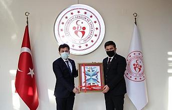 Türkiye Cimnastik Federasyonu Başkanı Çelen, Düzce'de...