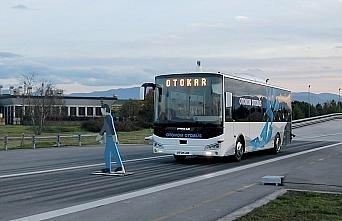 Türkiye'nin sürücüsüz otobüsü testleri başarıyla geçti
