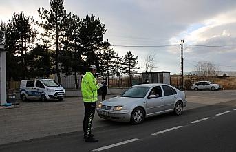 Yeniçağa'da Kovid-19 tedbirleri denetimleri devam...