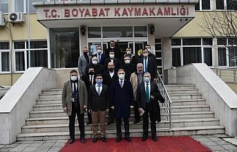 Yeniden Refah Partisi Genel Başkan Yardımcısı Altınöz'den Boyabat'a ziyaret